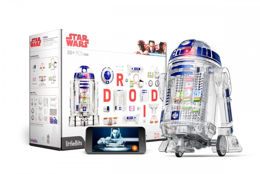 The littleBits Droid Inventor Kit - Build your own Star Wars droid!