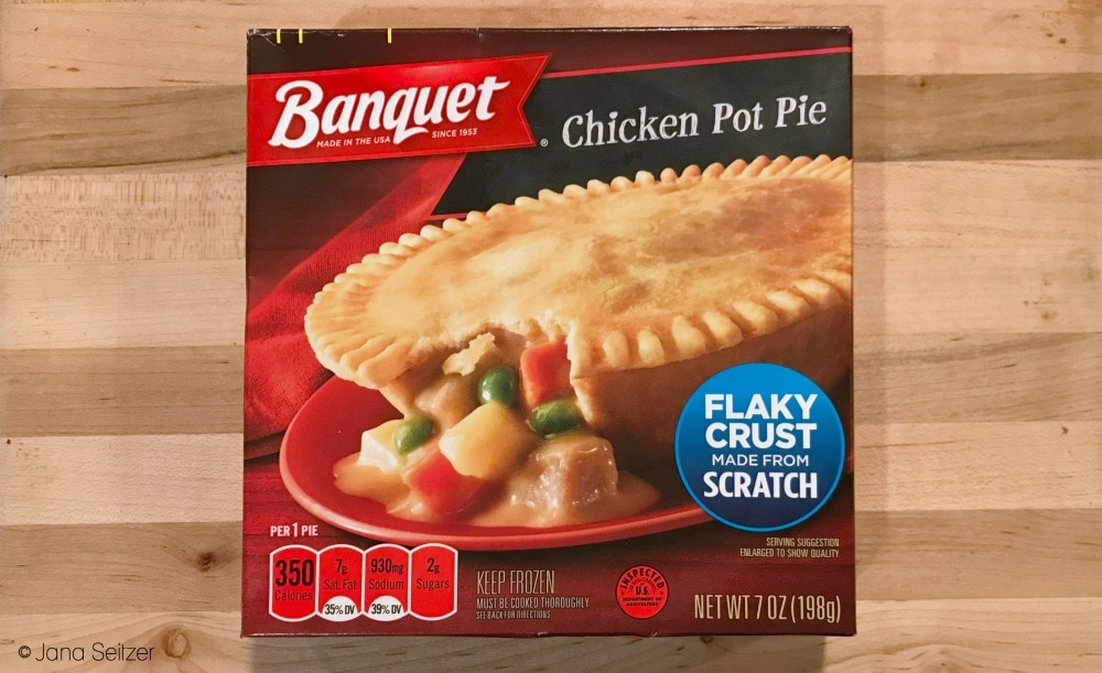 Celebrate Fall with Banquet Pot Pies - Chicken Pot Pie