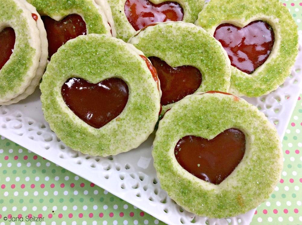 Grinch Sandwich Cookies