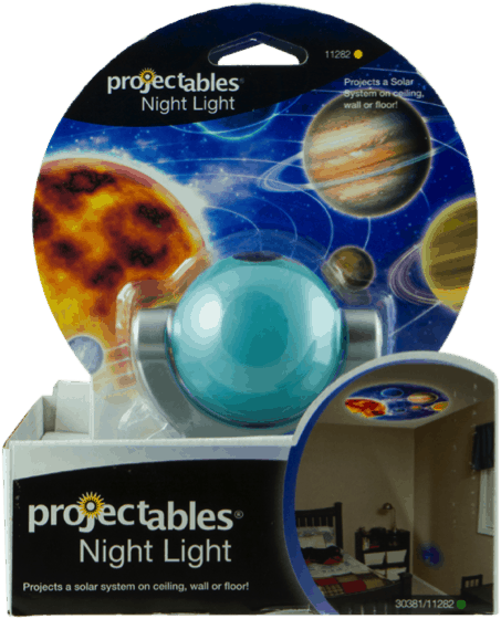 Light up Your Night with Jasco Projectables Night Lights - Nebula
