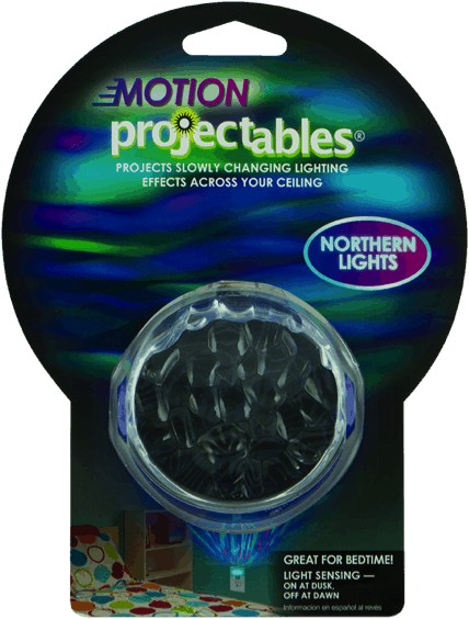 Light up Your Night with Jasco Projectables Night Lights - Northern Lights
