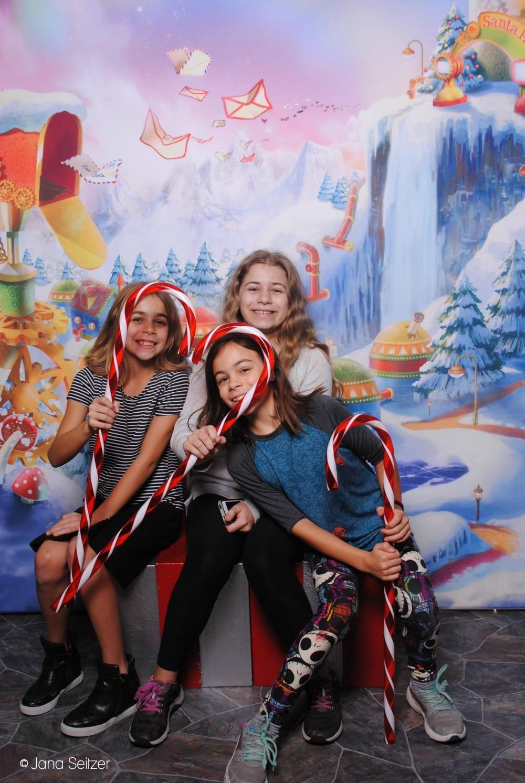 Visit Washington Square's Santa HQ