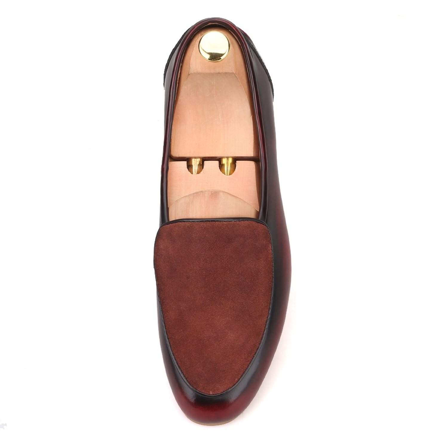 Merlutti Brown Belgian Leather Lucah Loafers