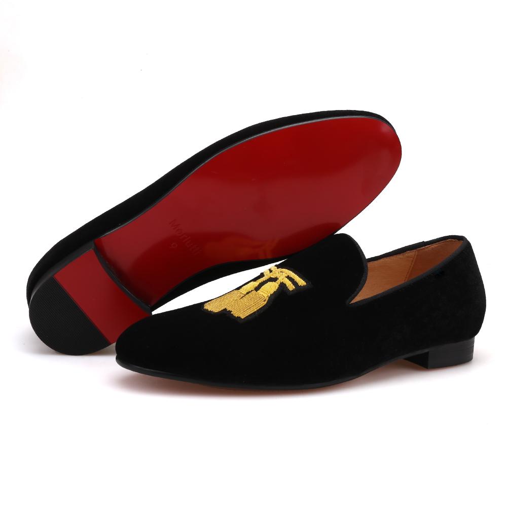 Black Velvet India Silk Tassel