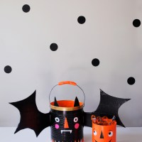 Trick-or-Treat Candy Buckets