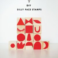 DIY Silly Face Stamps and a Get Messy Contest!