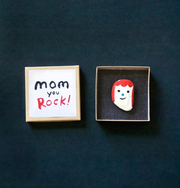Make a Rock Portrait for Mom! - Mer Mag