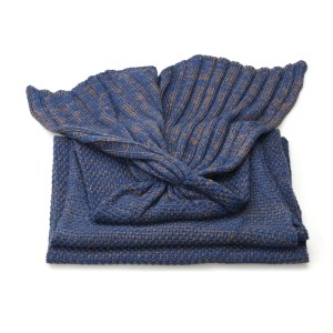 Aquarius Blanket Navy 2