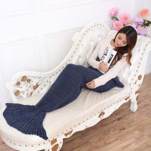 Aquarius Blanket Navy