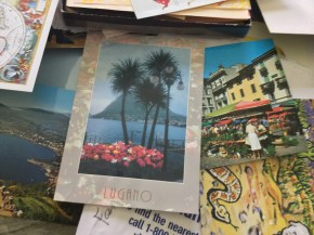 post cards from the world