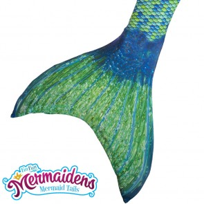 aussie green fin fun swimmable mermaid tail uk