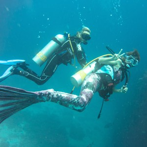 Underwater modeling tips - plan your communication