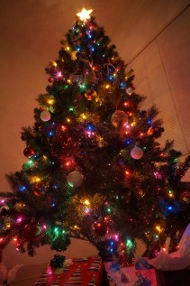 Our tree that Daniel surprised me with