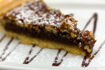 Kentucky Derby Pie - Pecans and Chocolate