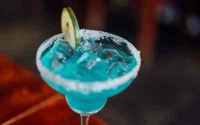 Blue Moon & Stars – Blue Virgin Margarita Recipe