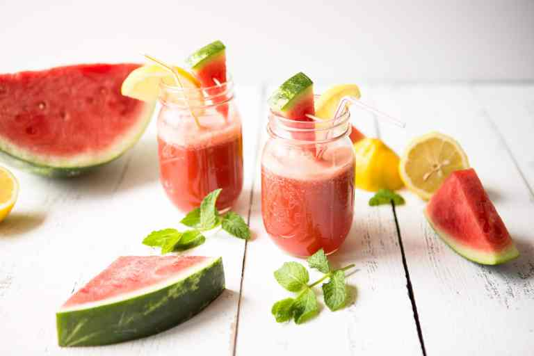 How to make Easy Watermelon ginger sparkling water recipe