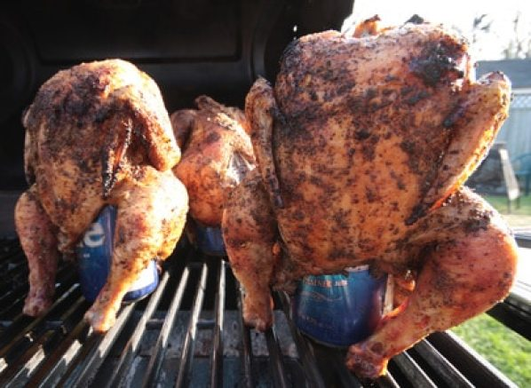 Cajun Beer Can Chicken recipe