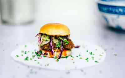 Don't be Crabby Burger – Crab Cake Sandwich