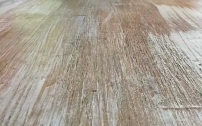Beachy Distressed  Hardwood Floor