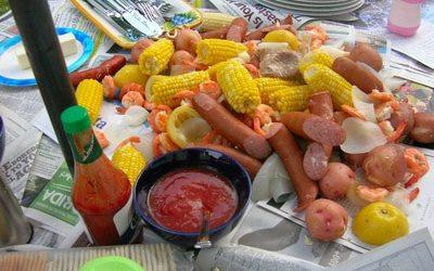 Low Country Shrimp Boil Party