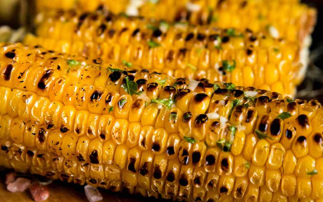 Delicious Simple Grilled Corn-on-the-Cob