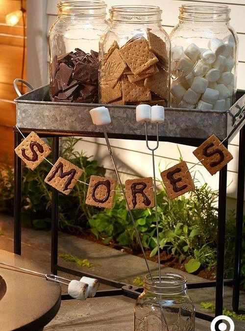 Creative Ideas for a S'mores Making Station