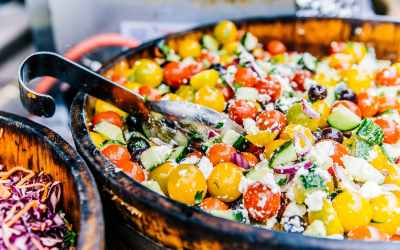 Heirloom Cherry Tomato Greek Salad