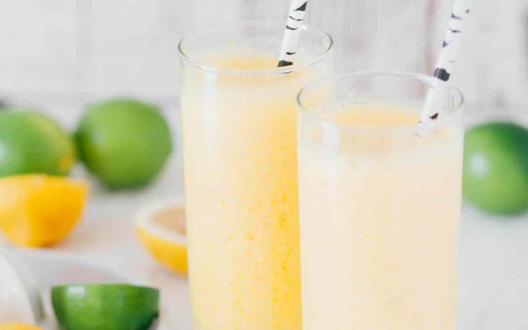 Fresh Georgia Peach Lemonade