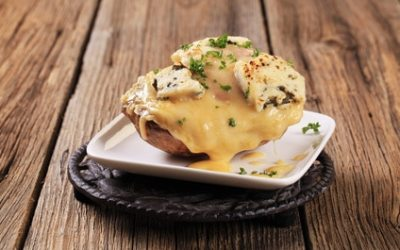 Easy Cheesy Twice Baked Potato