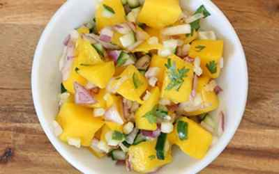 Spicy Mango Salsa Recipe