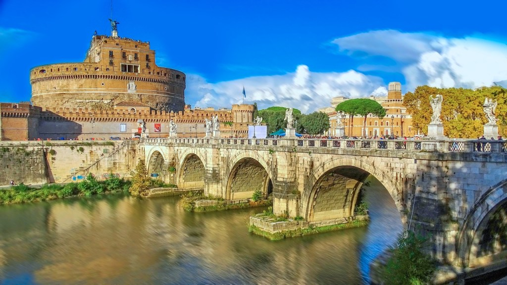 Castel Sant'Angelo - daytime 3 perfect days in Rome