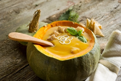 Curried Apple And Butternut Squash Soup
