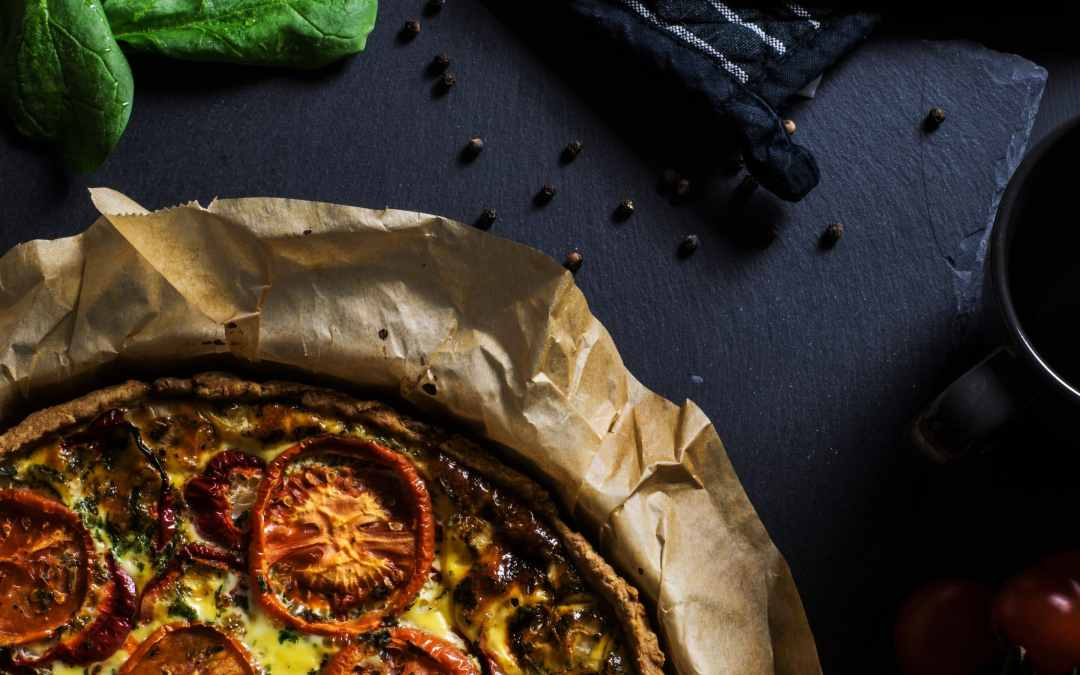 Sun-Dried Tomato, Eggplant Cheese Frittata