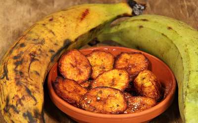 Sautéed Caramelized sweet Plantains