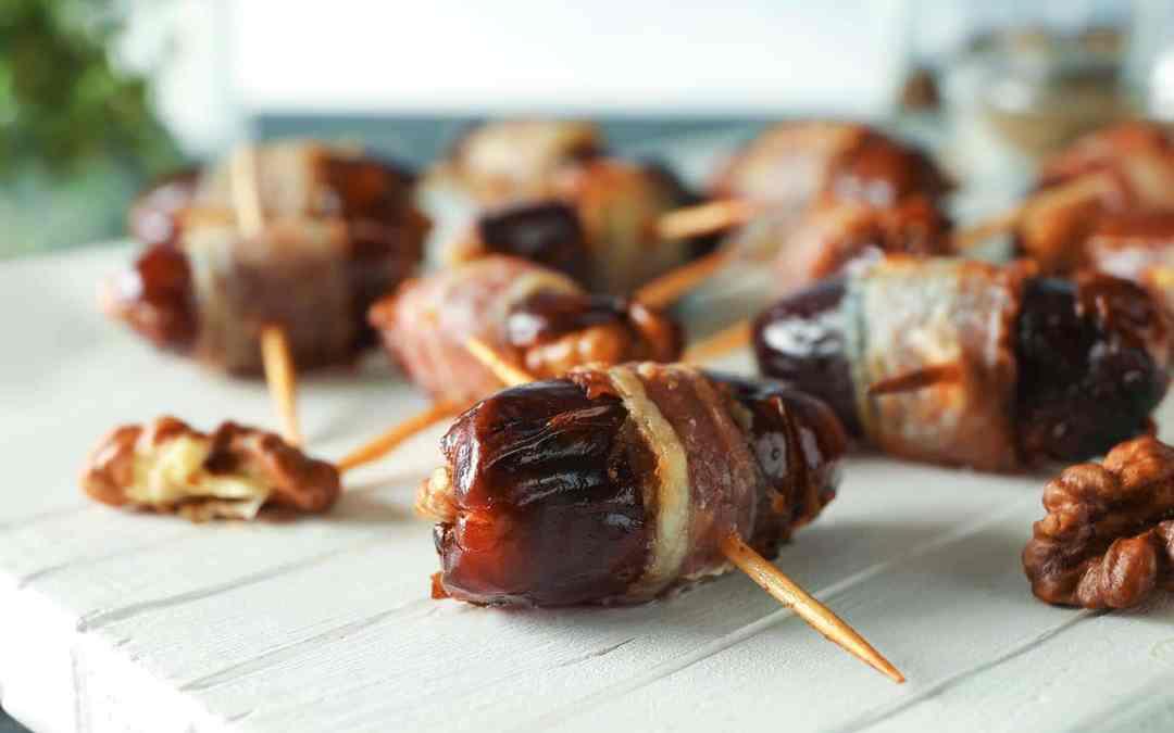 Bacon Wrapped Dates | Easy Tapas