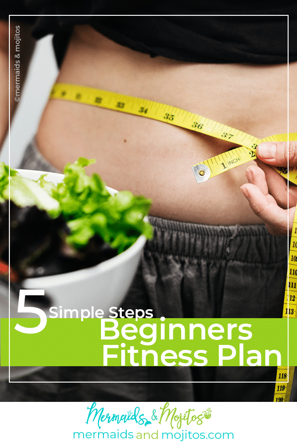 5 simple step beginners Fitness plan