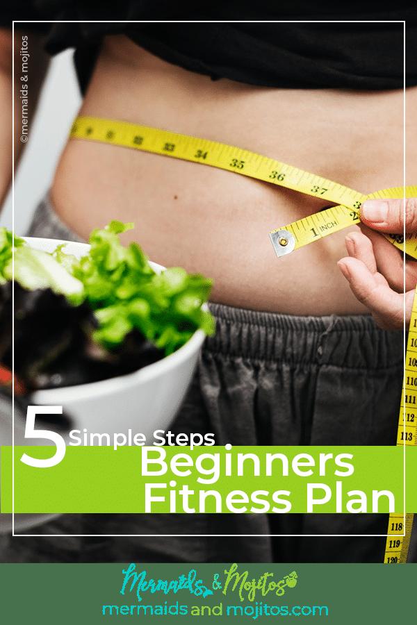 5 simple step beginners Fitness plan