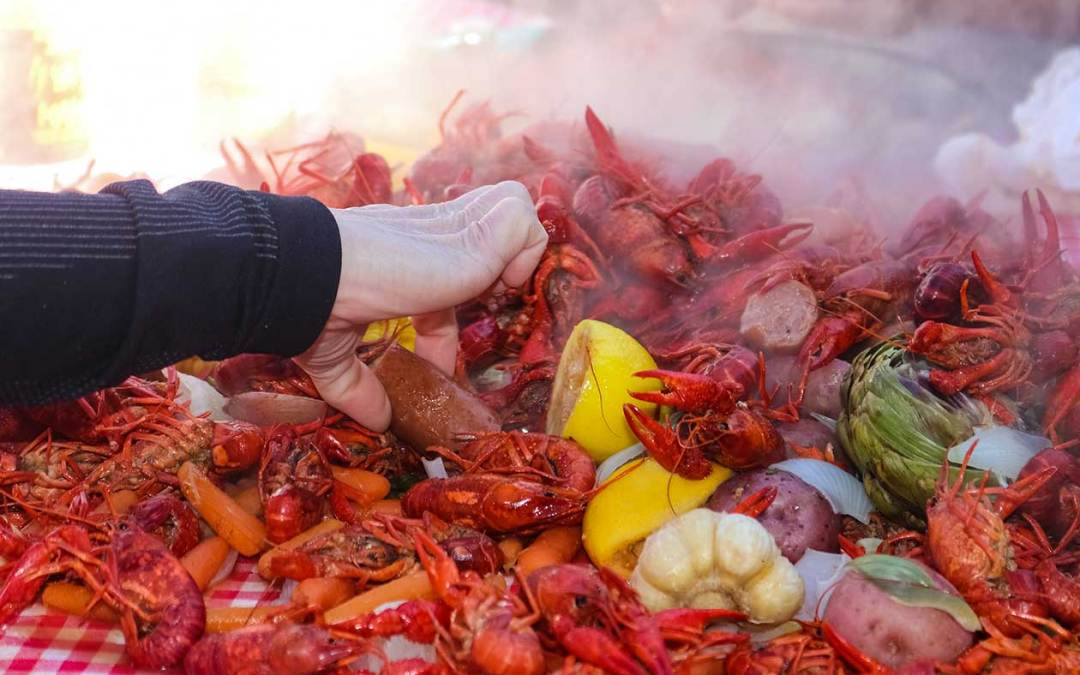 Easy Crawfish Boil to Feed a Crowd