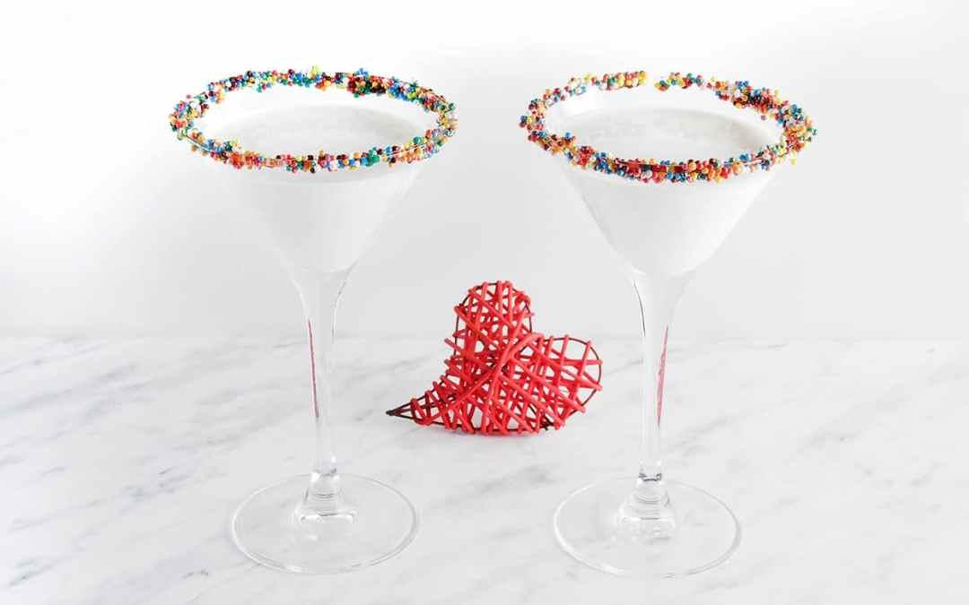 Mardi Gras King Cake Martini