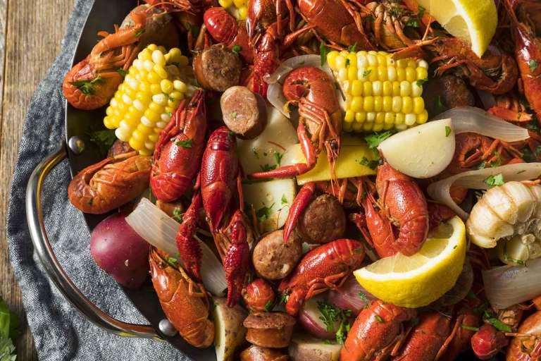 Easy Mardi Gras Crawfish Boil
