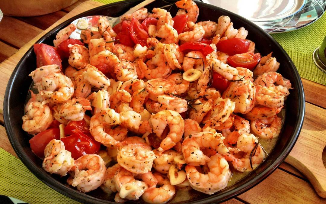 Gambas Al Ajillo | Classic Spanish Garlic Shrimp