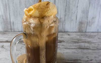 Root Beer Bourbon Ice Cream Float