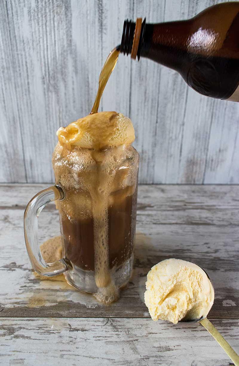 Root Beer Bourbon Ice Cream Float