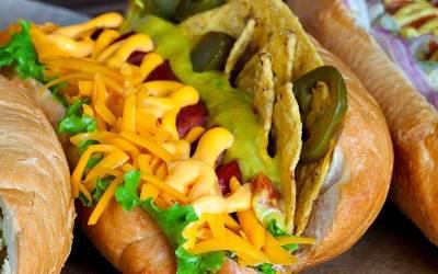 Taco Nacho Cheese Hot Dog