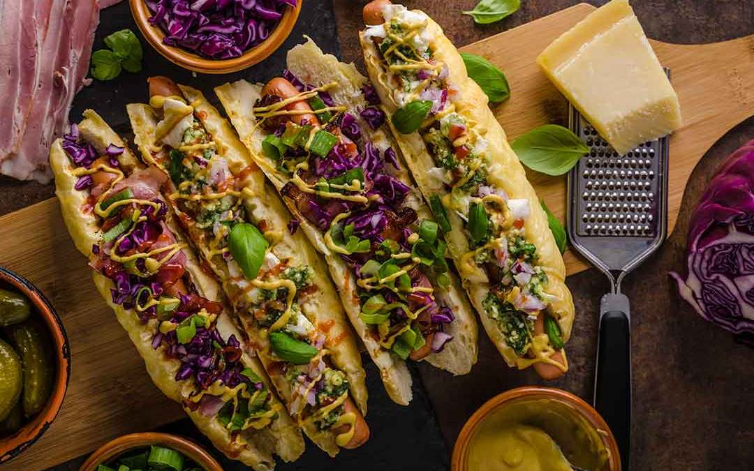 Grilled Farmer's Market Hot Dog