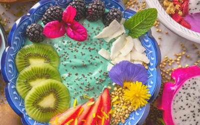 Mermaid Smoothie Breakfast Bowl