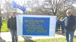 Westminster, Home of: Sleaze, lies, corruption. Stop Brexit