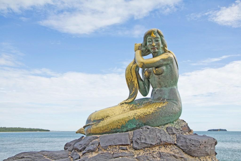 Songkhla Mermaid in Thailand