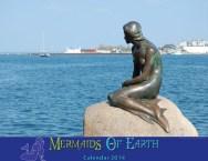 Mermaids of Earth Calendar 2014
