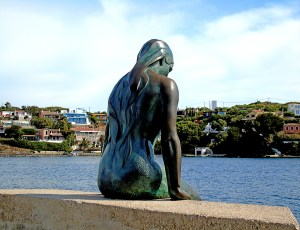 Mermaid Statue at Mahon